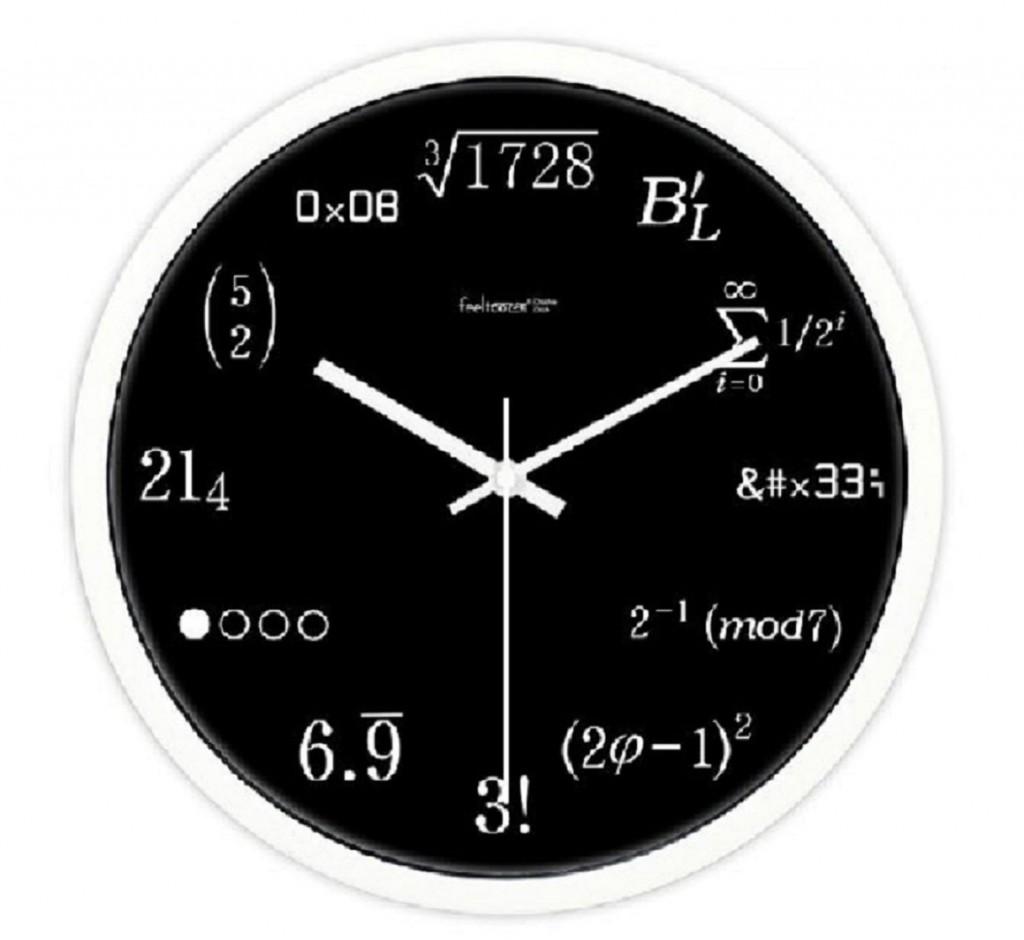 文系にはわからない理系時計。理系でも解らないという声が多いので解説してみた。