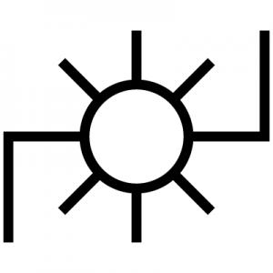 発電所をあらわす地図記号