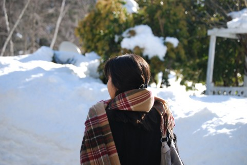 寒い冬の受験生