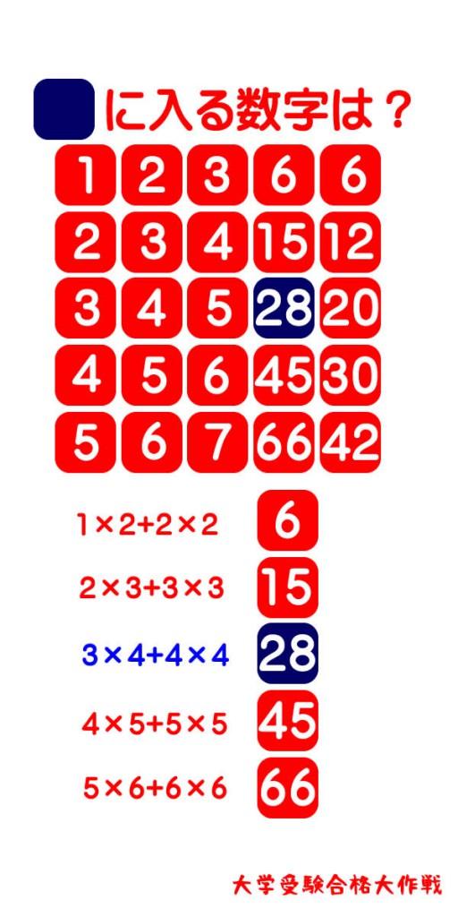 文系にはわかりにくいが理系には簡単な数学の問題。■に入る数字は?【解答編】