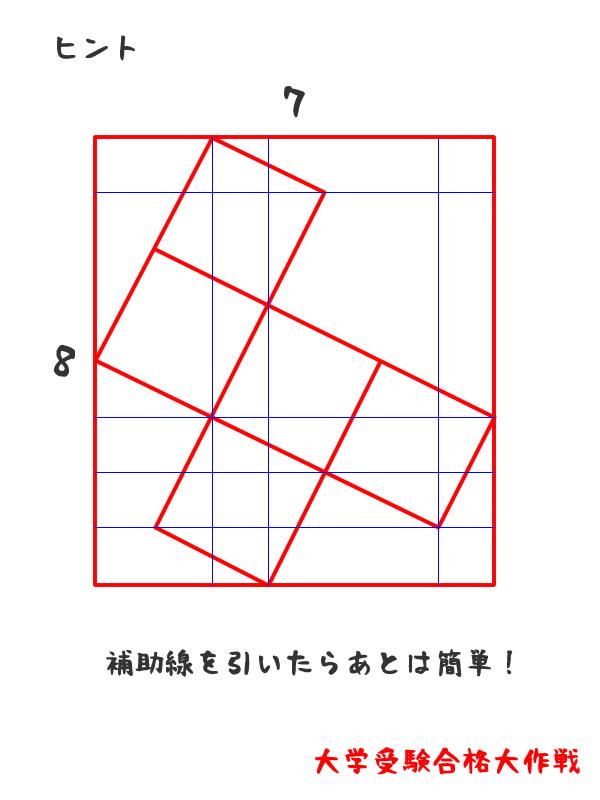 数学オリンピック図形問題補助線