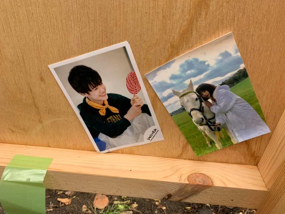 折田先生看板裏